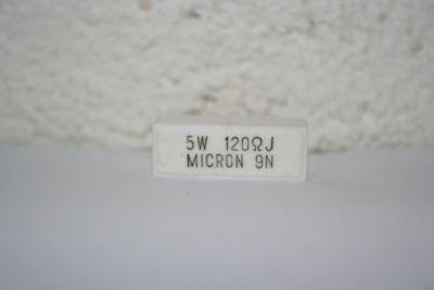 Lastwiderstand 120 Ohm/5W