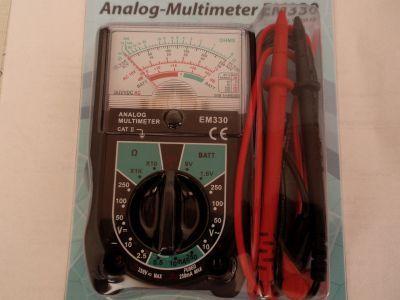Analog-Multimeter EM-330