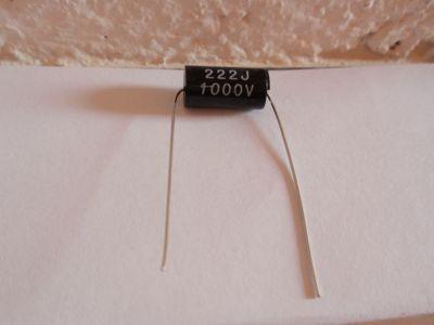 2200pF/1000V black