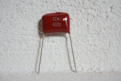 radial 0,22µF/400V