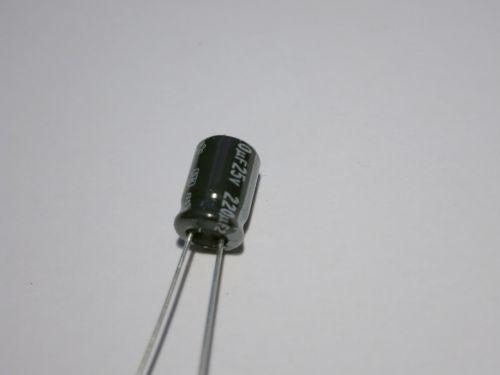 220µF/25V radial