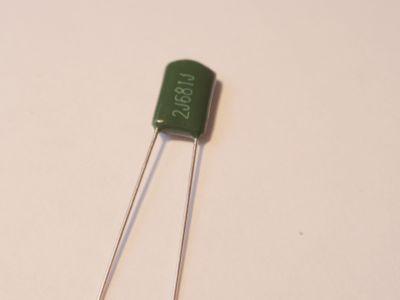 radial 680pF/630V