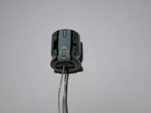 680µF/25V radial