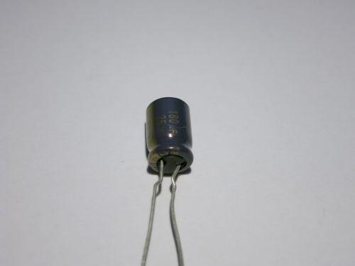 180µF/25V radial