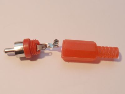 Cinchplug red