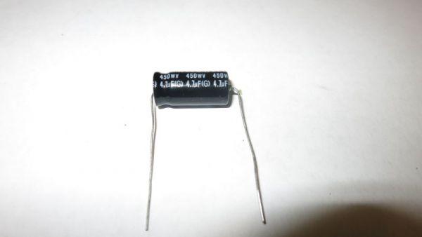 4,7µF/450V axial
