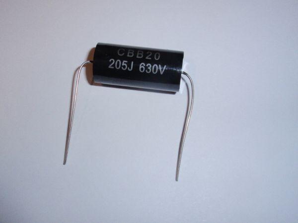 2µF/630V schwarz