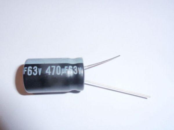 470µF/63V radial