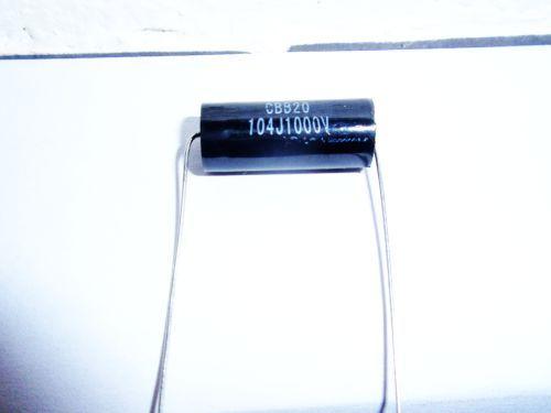 0,1µF/1000V schwarz