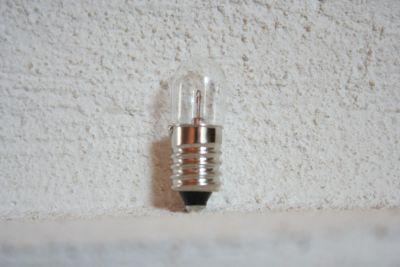Skalenlampen für Röhrenradios E10 18V/0,1A