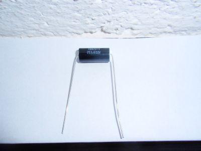 0,025µF/630V schwarz