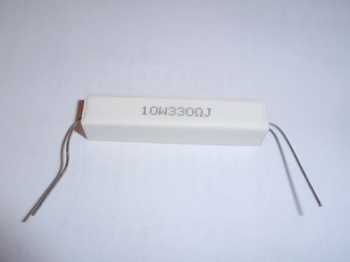 Lastwiderstand 330 Ohm/10W axial