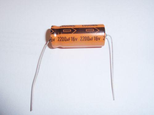 2200µF/16V axial