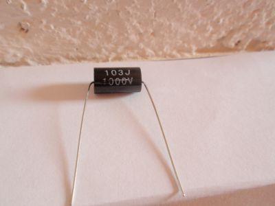 0,01µF/1000V schwarz