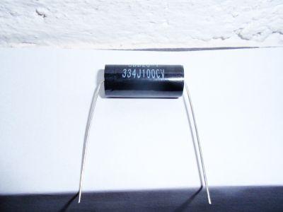 0,33µF/1000V schwarz