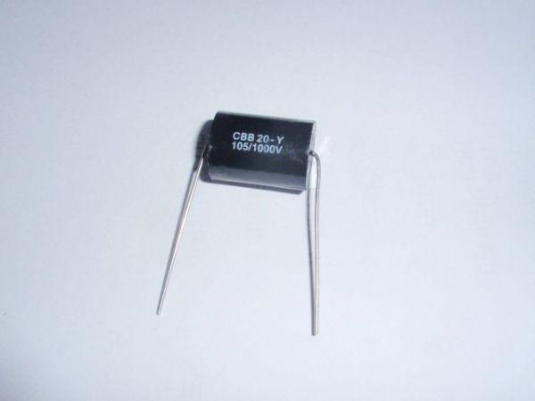 1µF/1000V schwarz