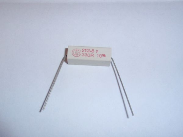 power resistor 330 Ohm/7W