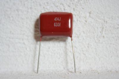 radial 0,47µF/630V