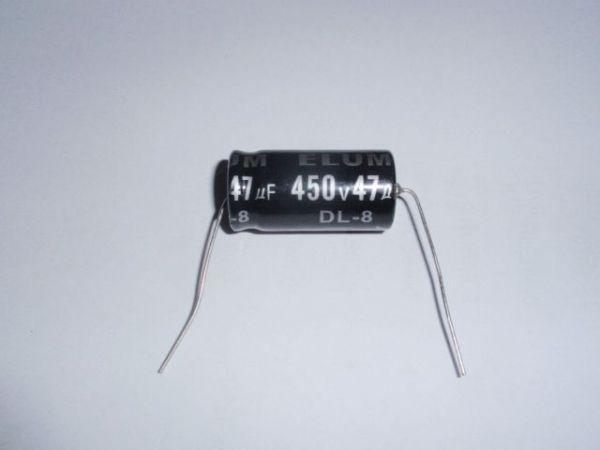 47µF/450V axial