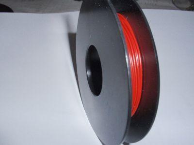 Schaltdraht YV 0,5mm rot 25m