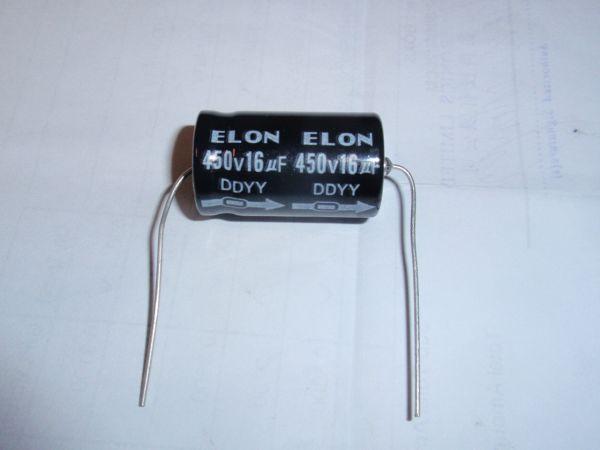 16µF/450V axial