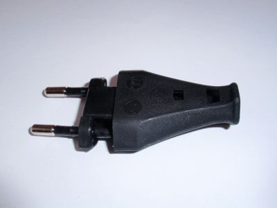 Euro plug 250V/2,5A black